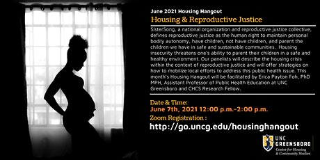 June Housing Hangout  -  Housing & Reproductive Justice tickets