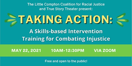 Taking Action: A Skills-based Intervention Training for Combating Injustice tickets