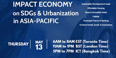 Impact Economy on SDGs and Urbanization in ASIA-PACIFIC tickets
