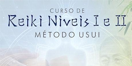 Curso de Reiki método tradicional Usui Níveis I e II ingressos