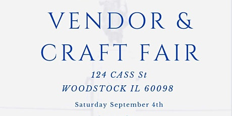 Labor Day Vendor & Craft Fair tickets