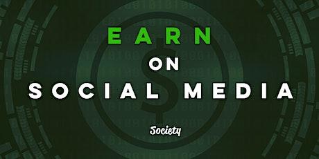 Earn On Social Media tickets