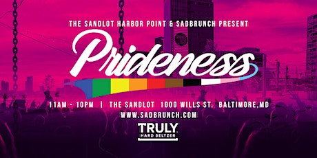 PRIDENESS @ Sandlot tickets