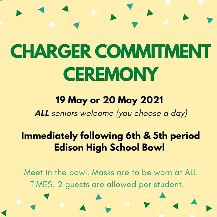 Charger Commitment Ceremony! image