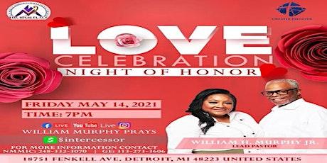 "Love Celebration ""Night of Honor"" tickets"