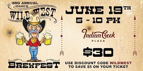 Idaho's Wild West Brewfest tickets