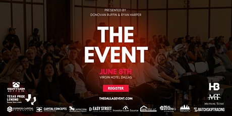 THE EVENT - June 8th tickets