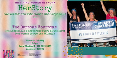 IWN's HerStory: The Oarsome Foursome (ALL welcome) tickets