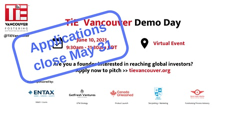 TiE Vancouver Demo Day tickets
