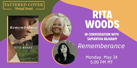 Live Stream with Rita Woods in conversation with Samantha Rajaram tickets