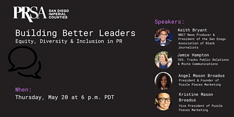 Building Better Leaders of Equity, Diversity & Inclusion tickets