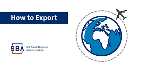 Export Resources for Your Small Business tickets