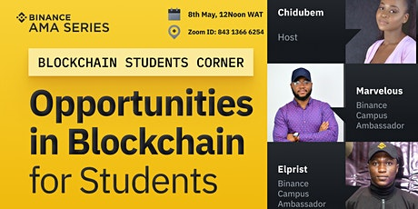 Opportunities in Blockchain for Students tickets