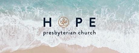 Hope PC Outdoor Worship Service - Sunday, May 30, 2021 boletos