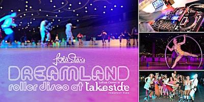 90s+Hip+Hop+at+Dreamland+Roller+Disco+at+Lake