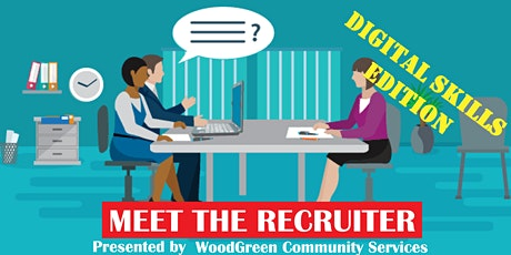 JOB SEARCH CLUB: Meet the Recruiter Virtual Event (Digital Skills Edition) tickets