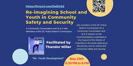Re-imagining School and Youth in Community Safety and Security tickets