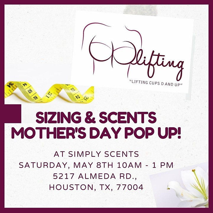 Sizing & Scents Mother's Day Pop Up image