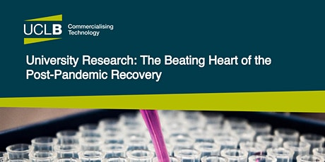 University Research: The Beating Heart of the Post-Pandemic Recovery tickets