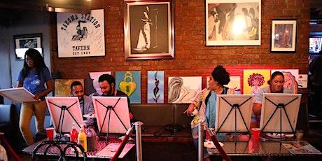 Paint Jam Live R&B soul Paint 'N Sip SOULECTION EDTION tickets