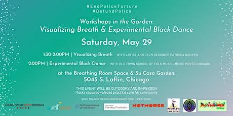 Workshop in the garden: Visualizing Breath tickets