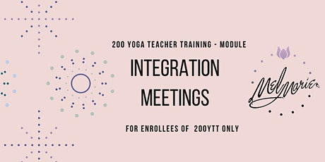 200 Module Student Integration Meeting tickets