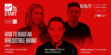 Virgin StartUp MeetUp | How to build an irresistible brand tickets