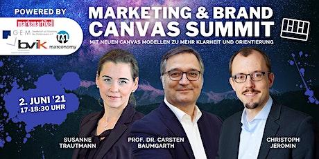 Marketing & Brand Canvas Summit Tickets