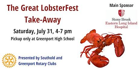 Great LobsterFest Take-Away tickets