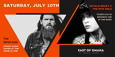 Tim Montana LIVE at East of Omaha! tickets