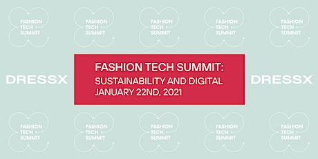 Fashion Tech Summit 2021 - NFT and Sustainability Tickets