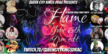 Queen City Kings Drag presents FLAME a Drag Pride Party tickets