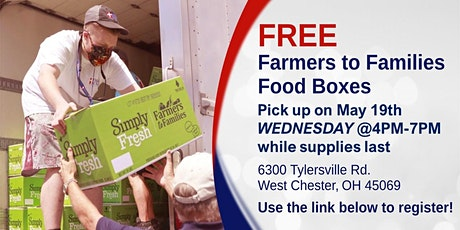 Farmers to Families Food Box Giveaway - May 19th, 2021 tickets