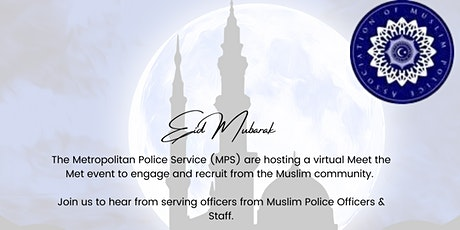Eid al-Fitr  - Recruitment Webinar - Metropolitan Police tickets