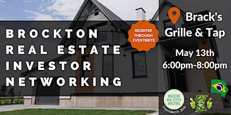 Brockton Real Estate Investor Networking tickets