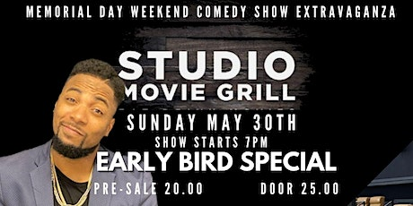 **Memorial Day Weekend Comedy Show Extravaganza** at Studio Movie Grill tickets