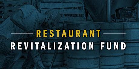 Restaurant Revitalization Fund tickets