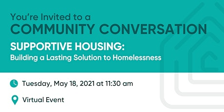 Supportive Housing: Building a Lasting Solution for Homelessness tickets