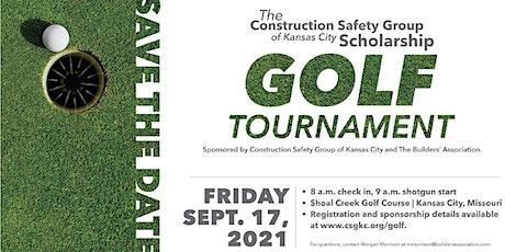 CSG Golf Tournament 2021 tickets