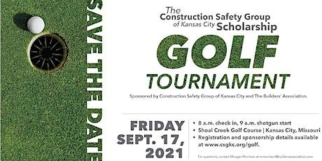 CSG Golf Tournament Hole Sponsor tickets