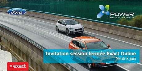 Session fermées Exact Online - Xpower tickets