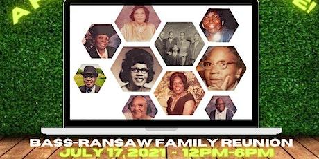Bass - Ransaw Family Reunion  (Shelter #3) tickets