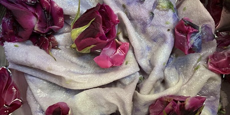 Free Virtual Natural Dye Workshop: Eco Printing / Bundle Dye tickets