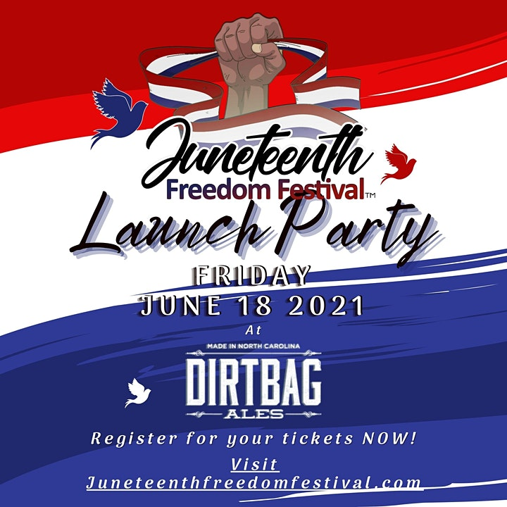 Juneteenth Freedom Festival Launch Party image