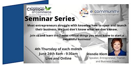 Entrepreneur Seminar Series tickets