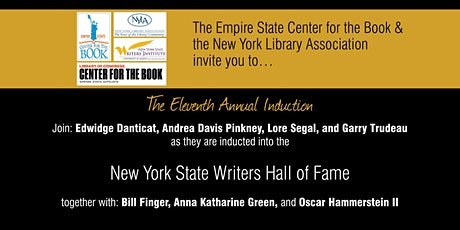 NYS Writers Hall of Fame Virtual Ceremony (2020-2021 Inductees) tickets