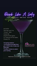 Drink Like A Lady 1st Annual Drink Expo tickets