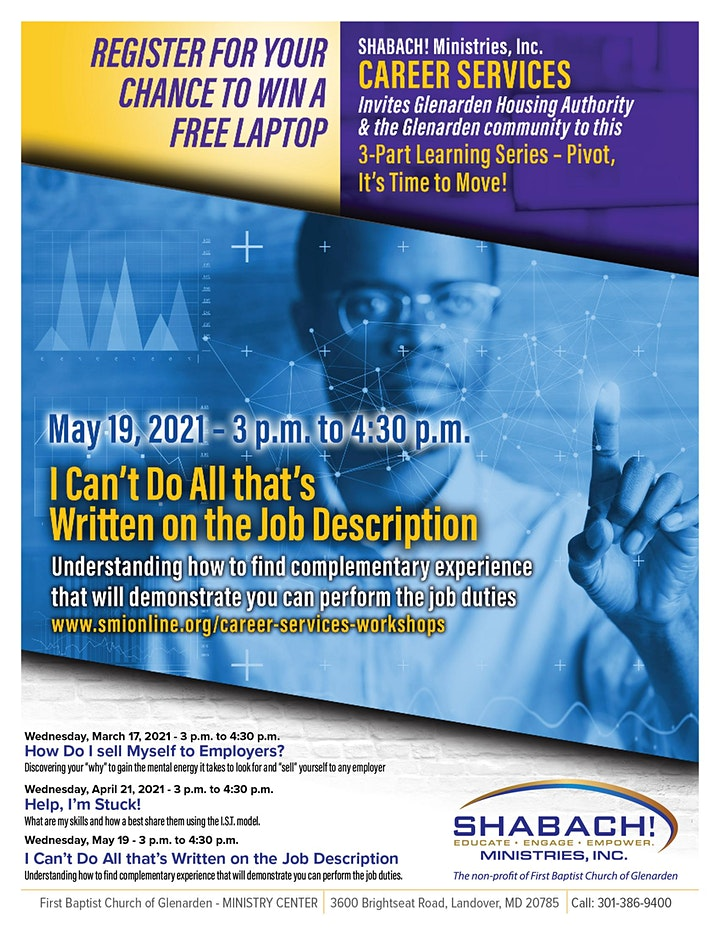 I Can't Do All That's Written on the Job Description  FREE VIRTUAL WORKSHOP image