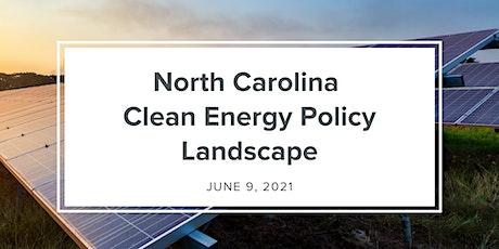 Webinar - North Carolina Clean Energy Policy Landscape tickets