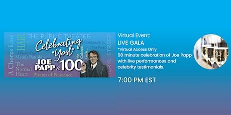Celebrating 'Yosl' – Joe Papp at 100 Gala (Virtual Ticket) tickets